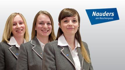Das Team von Nauders, Kaunertal und Tiroler Oberland hat Spaßan der Arbeit mit der Multichat Software von vee24.