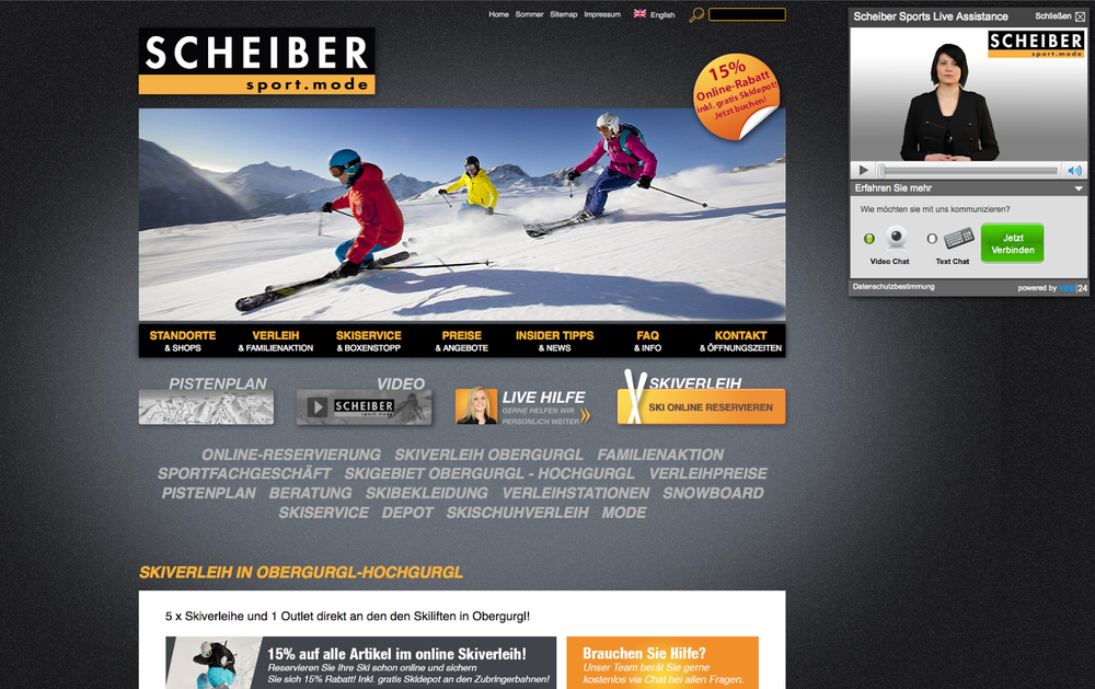 vee24 bei Scheiber Sport